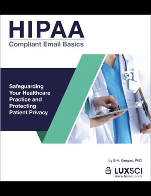 HIPAA-compliant Email Basics