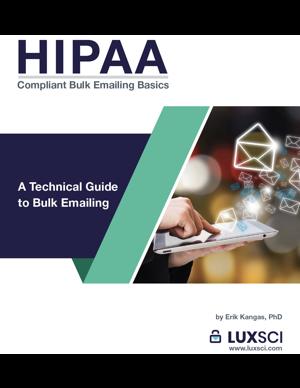 HIPAA-compliant Bulk Emailing Basics