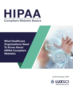 HIPAA-compliant Website Basics