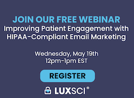 HIPAA-compliant marketing webinar