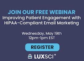 HIPAA-compliant marketing webinar