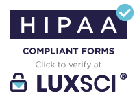 LuxSci helps ensure HIPAA-compliance for email and web services.